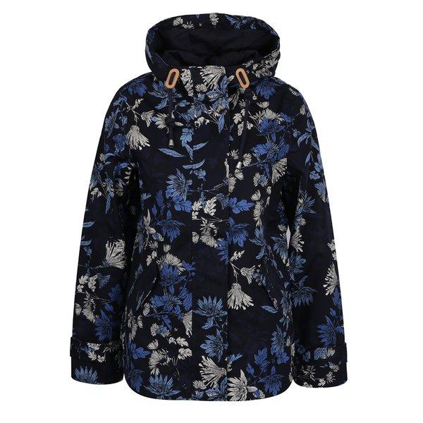 Jachetă impermeabilă bleumarin cu print floral pentru femei Tom Joule de la Tom Joule in categoria Geci, jachete și sacouri