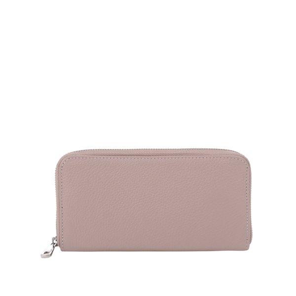 Portofel roz prăfuit mare de piele ZOOT de la ZOOT in categoria portofele