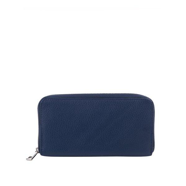 Portofel albastru mare de piele ZOOT de la ZOOT in categoria portofele