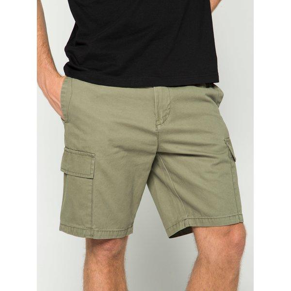 Pantaloni scurți cargo verde camuflaj Burton Menswear London cu buzunare