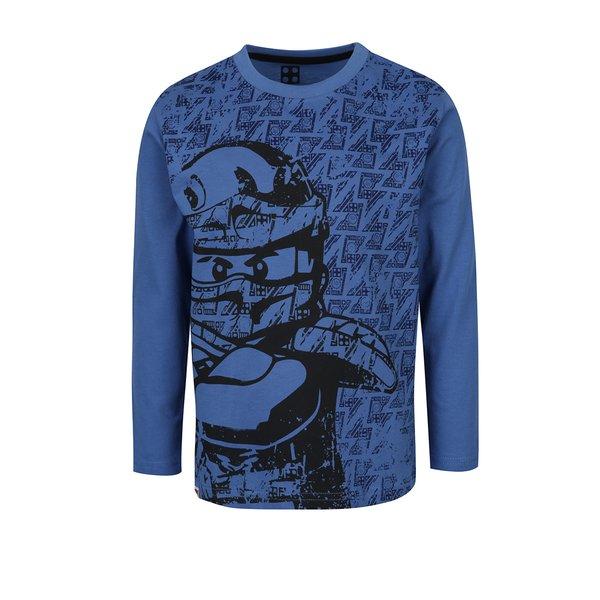 Bluză albastră cu print Lego Wear pentru băieți de la Lego Wear in categoria Tricouri, camasi