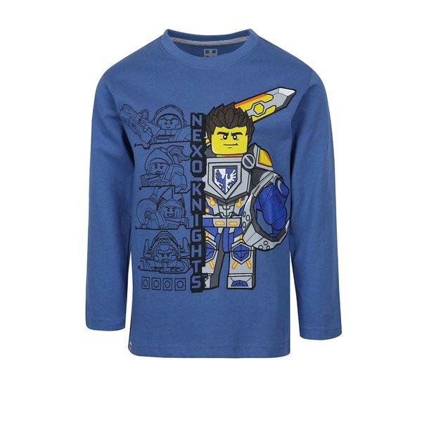 Bluză albastră cu mâneci lungi și print Lego Wear pentru băieți de la Lego Wear in categoria Tricouri, camasi