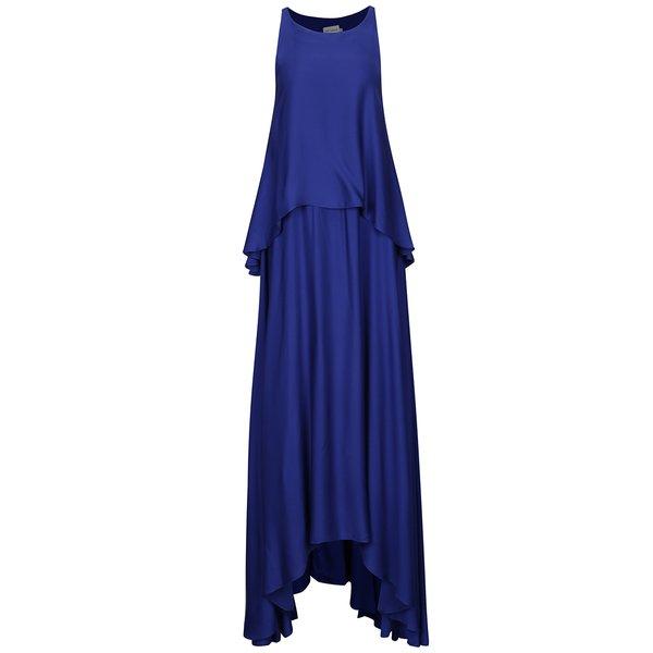 Rochie albastra cu volane Aer Wear de la Aer Wear in categoria rochii de seară