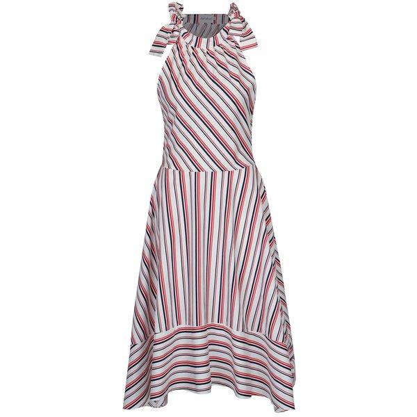 Rochie cu dungi asimetrica Aer Wear de la Aer Wear in categoria rochii casual