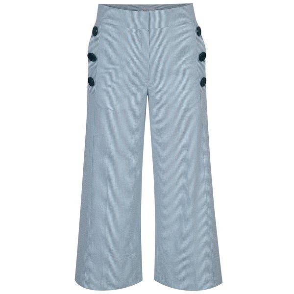 Pantaloni culotte cu dungi si nasturi decorativi Aer Wear de la Aer Wear in categoria Blugi, pantaloni, colanți