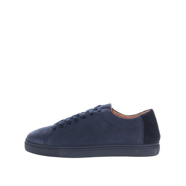 Pantofi sport bleumarin din piele întoarsă Selected Homme David