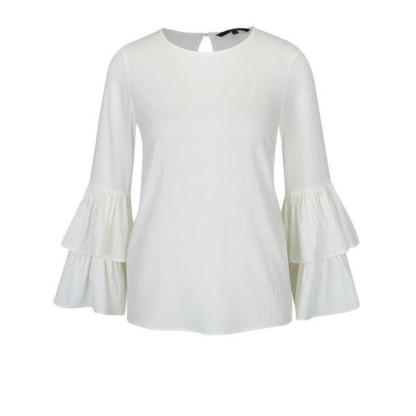 Bluză crem cu mâneci clopot VERO MODA Dellie de la VERO MODA in categoria Topuri, tricouri, body-uri