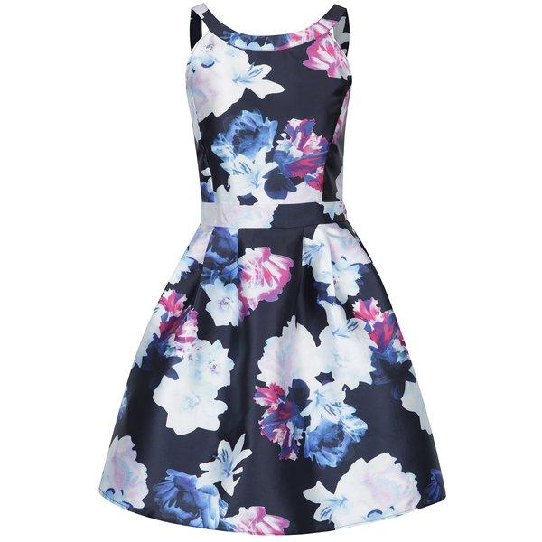 Rochie albastră cu flori - AX Paris