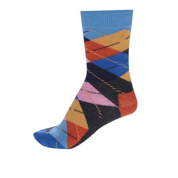 Șosete unisex multicolore înalte Happy Socks Argyle de la Happy Socks in categoria BĂRBAȚI