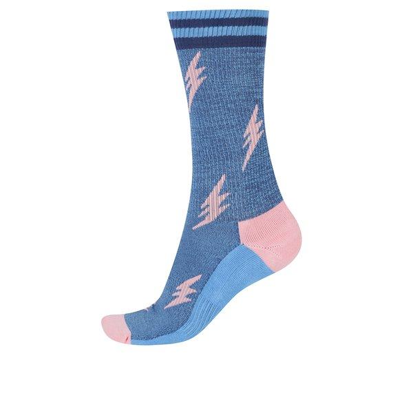 Șosete albastre înalte pentru bărbați Happy Socks Athletic Flash de la Happy Socks in categoria Dresuri si șosete