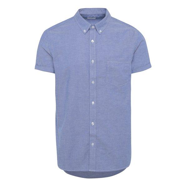 Cămașă bleu din bumbac - Burton Menswear London