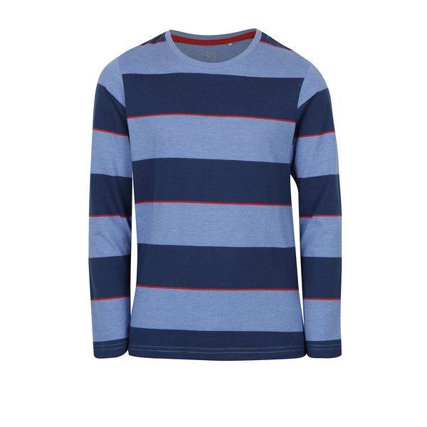 bluza albastra cu dungi pentru baieti - 5.10.15.