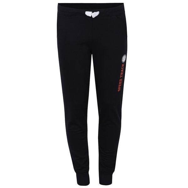 Pantaloni de trening negri cu imprimeu pentru baieti - 5.10.15.