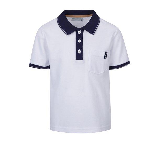 Tricou polo cu guler bleumarin pentru baieti 5.10.15.
