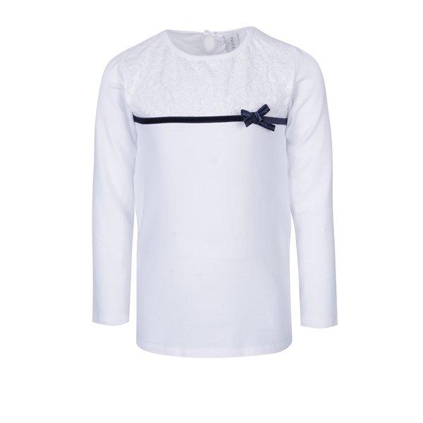 bluza alba cu funda pentru fetite – 5.10.15.