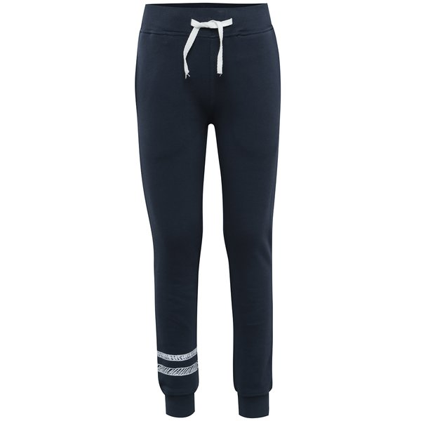 Pantaloni bleumarin cu snur pentru baieti - name it Ken