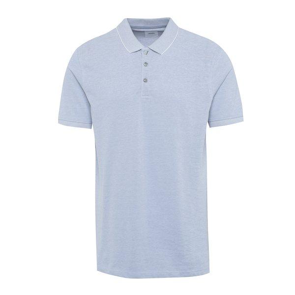 Tricou polo albastru deschis Burton Menswear London