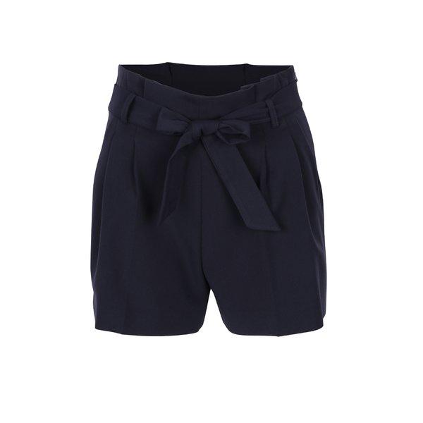 Pantaloni scurți bleumarin cu cordon în talie - Miss Selfridge Petites