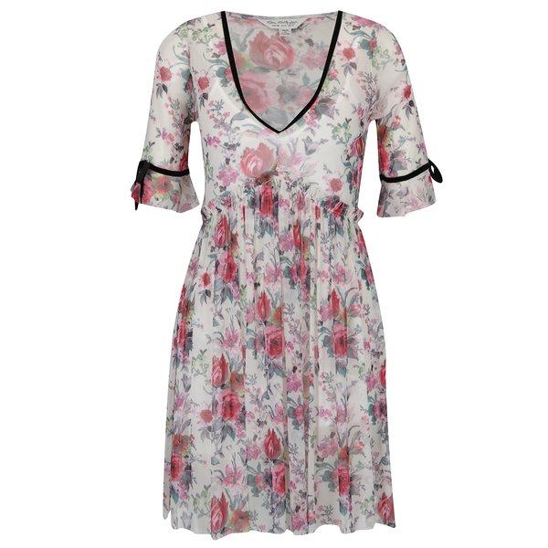 Rochie cu print floral si pliseuri - Miss Selfridge