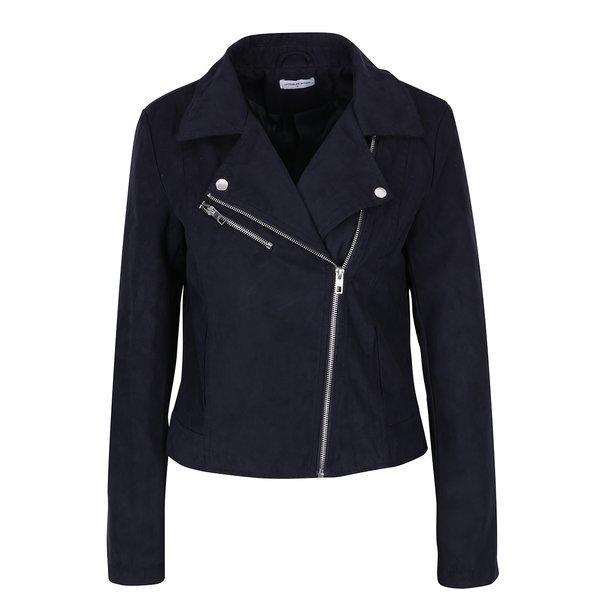 Jachetă bleumarin cu revere și capse - Jacqueline de Yong Penny