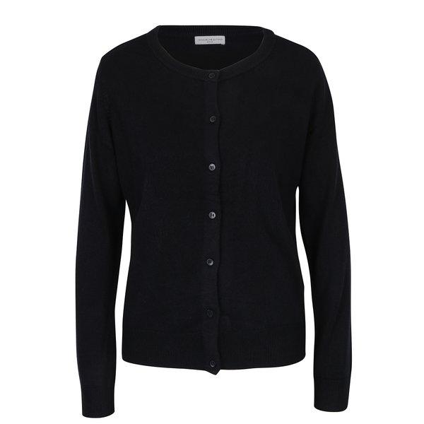 Cardigan negru cu nasturi – Jacqueline de Yong Favorite