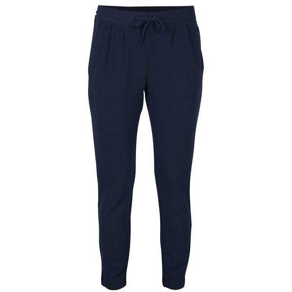 Pantaloni bleumarin cu talie înaltă - Jacqueline de Yong Jazzle