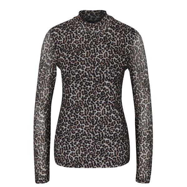 Bluză cu print leopard - ONLY Erica