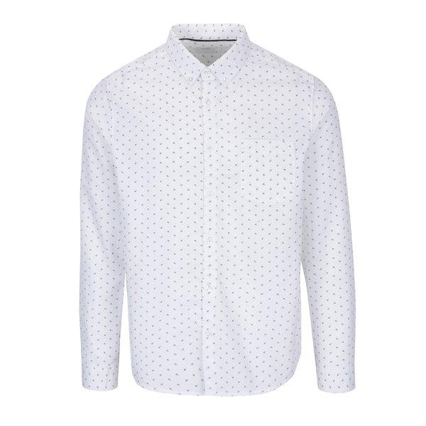 Cămașă crem cu model discret - Burton Menswear London