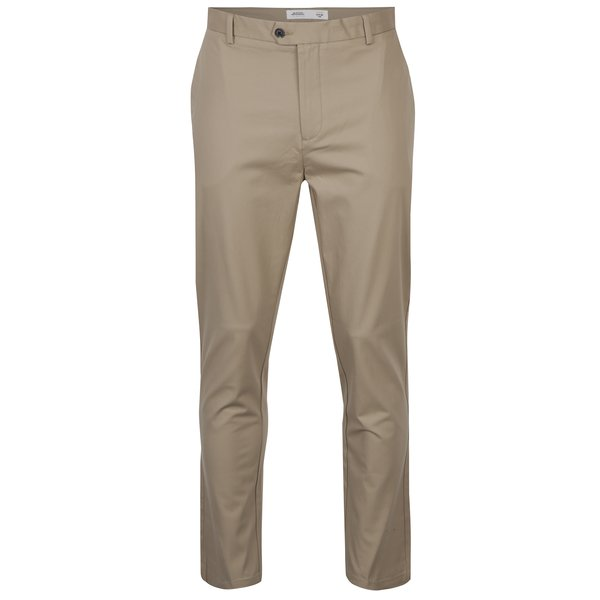 Pantaloni bej chino slim fit – Burton Menswear London