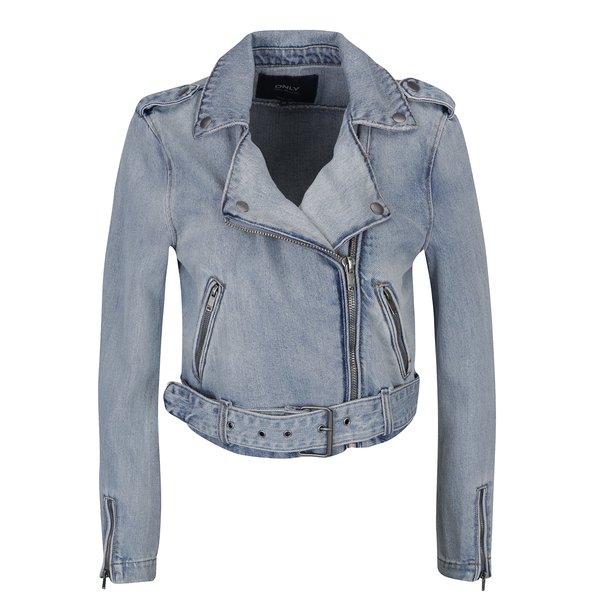 Jachetă bleu din demim - ONLY Molly