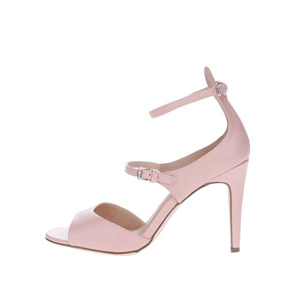 Sandale roz prăfuit cu toc stiletto Dorothy Perkins