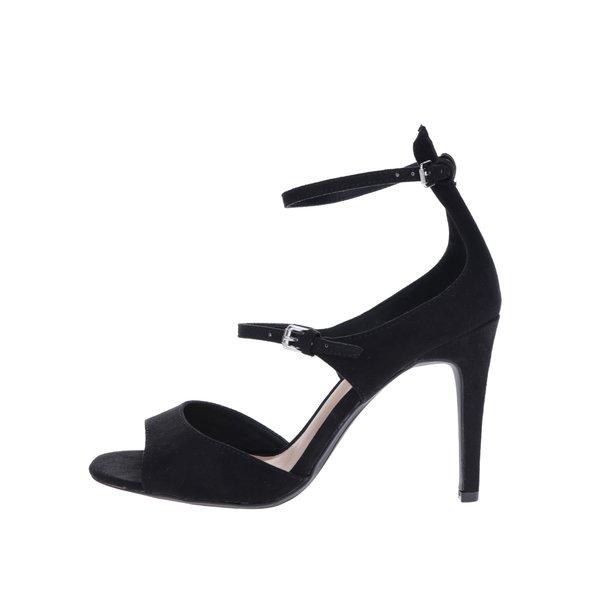 Sandale negre cu toc stiletto Dorothy Perkins