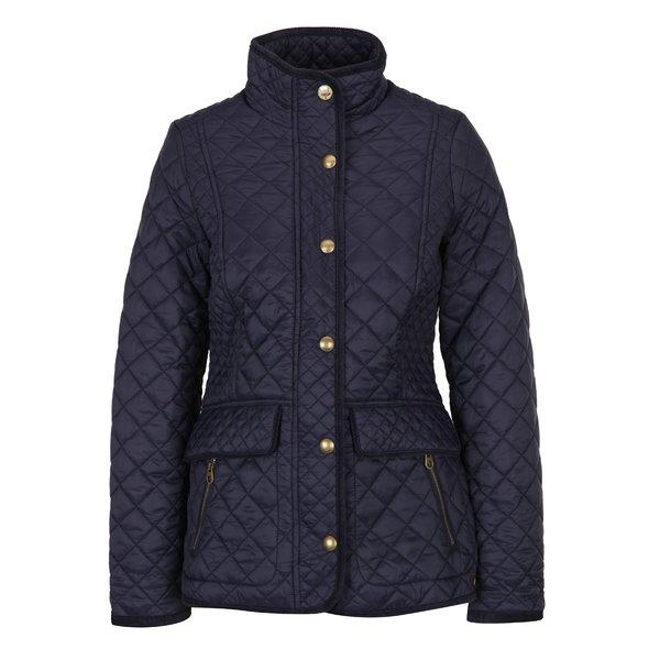 Jachetă albastră matlasată și impermeabilă de damă - Tom Joule Newdale