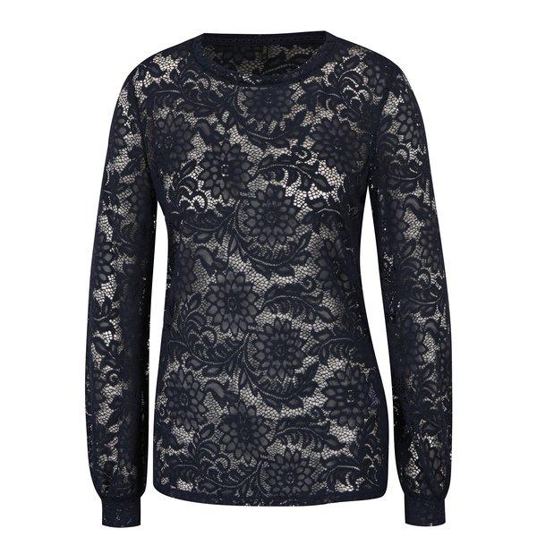 Bluză bleumarin din dantelă - ONLY Laura