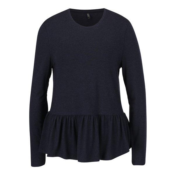 Bluză peplum bleumarin - ONLY Olivia