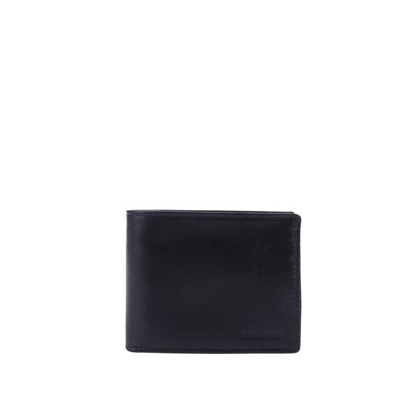 Portofel negru din piele naturală pentru bărbați - Royal RepubliQ