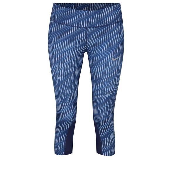 Imagine indisponibila pentru Colanti sport 3/4 albastri de alergare pentru femei - Nike