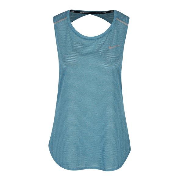 Top albastru din plasă pentru femei Nike