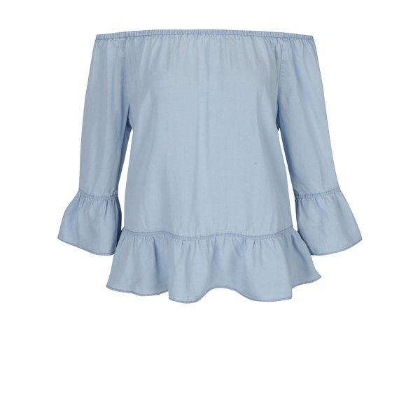 Bluza bleu cu decolteu pe umeri s.Oliver