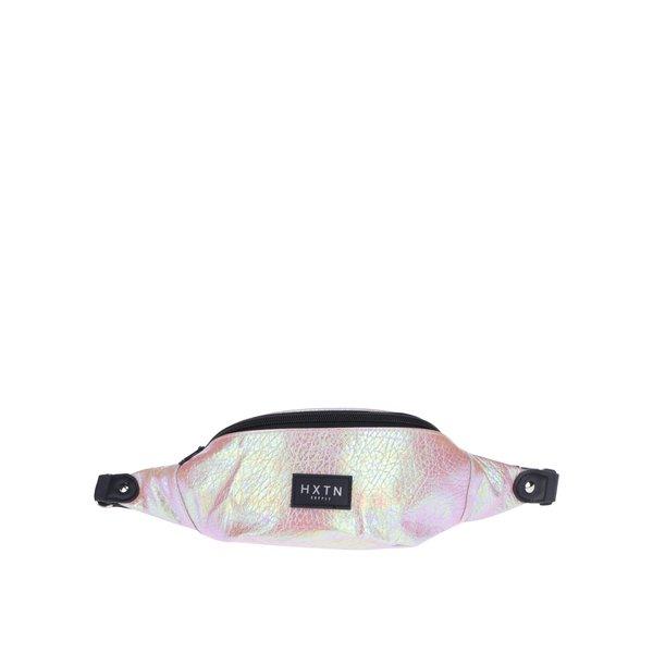 Borsetă roz cu efect holografic HXTN supply