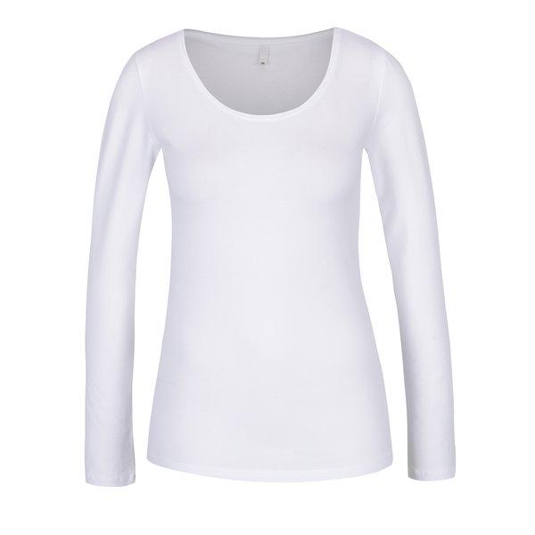 Bluză albă cu mâneci lungi Only Basic