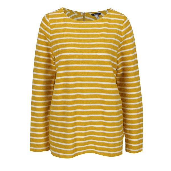 Pulover galben tricotat fin - Tom Joule Caroline