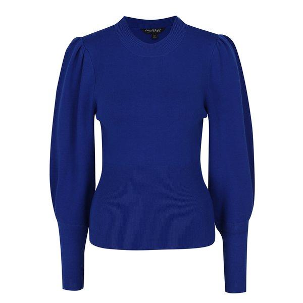 Pulover albastru cu mâneci bufante - Miss Selfridge