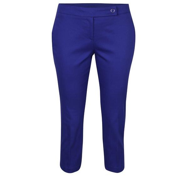 Pantaloni trei sferturi albaștri Dorothy Perkins Petite