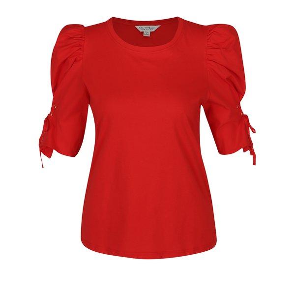 Bluză roșie cu umeri bufanți - Miss Selfridge