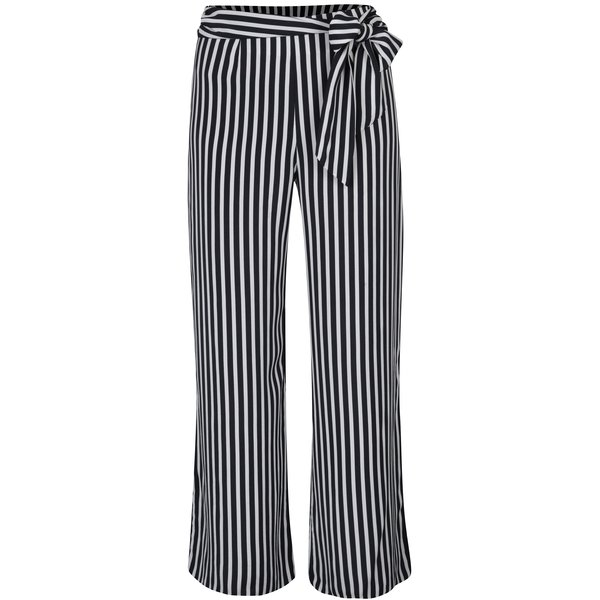 Pantaloni lejeri cu dungi și talie înaltă - Miss Selfridge