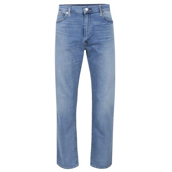 Blugi albaștri cu aspect uzat pentru bărbați Levis® 504