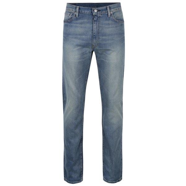 Blugi albaștri elastici cu aspect prespălat pentru bărbați Levis®