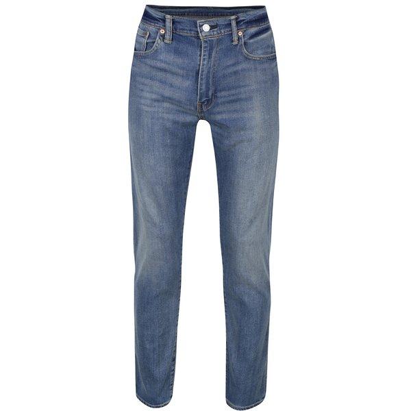 Blugi albaștri elastici cu aspect decolorat pentru bărbați Levis®