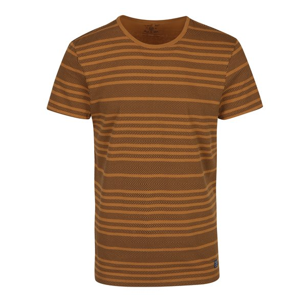 Tricou maro & negru cu imprimeu discret - Blend